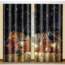 ФотоШторы Ночь перед Рождеством Код 2158