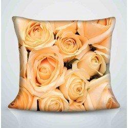 Фотоподушка Яркие розы