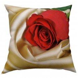Фотоподушка Красная роза