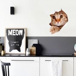 Наклейка на стены Кошка