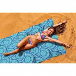 """Пляжное покрывало """"Синие волны"""" арт. 11259"""