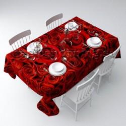 """Скатерть """"Алые розы"""" арт. 01947"""
