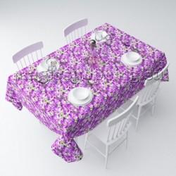 """Скатерть """"Фиолетовый шафран"""" арт. 01802"""