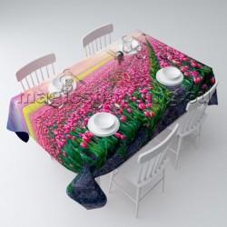 """Скатерть """"Поле тюльпанов"""" арт. 05387"""