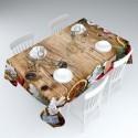Скатерть Имбирные пряники , 145*120 см, 145*220 см