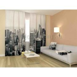 ФотоШторы Черно-белый Нью-Йорк Код 1118