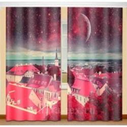 Фотошторы Красные крыши Код 1794