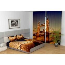 Фотошторы Вечерний лондонский мост Код 920