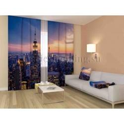 ФотоШторы Нью-Йорк на закате Код 1084