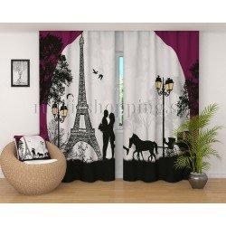 Фотошторы Парижская романтика Код 2695