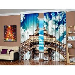 Фотошторы Облака Парижа