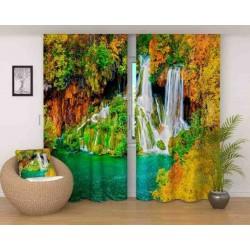 Фотошторы Яркий водопад Код 190