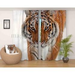 Фотошторы Сибирский тигр Код 2597